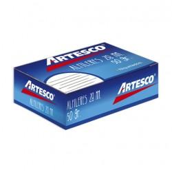 ALFILER METALICO 28 Mm X 50 Gr. ARTESCO