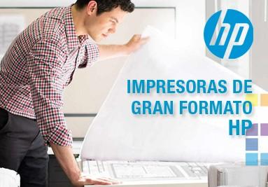Impresoras de Gran Formato HP